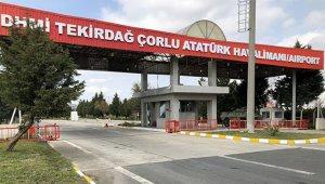 Çorlu Atatürk Havalimanı uluslararası daimi hava hudut kapısı ilan edildi