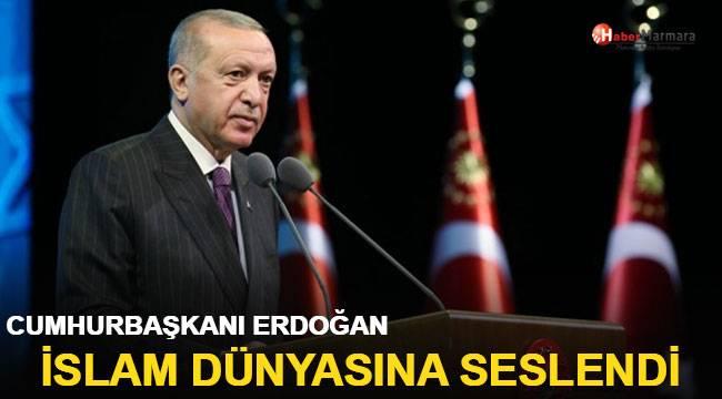 Cumhurbaşkanı Erdoğan'dan İslam ülkelerine mesaj