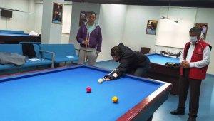 Düzce'de 3 bant bilardo eğitimleri başladı