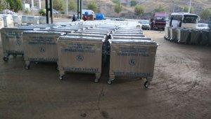 Emet Belediyesi 100 adet çöp konteyneri satın aldı