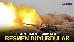 Ermenistan geri adım attı