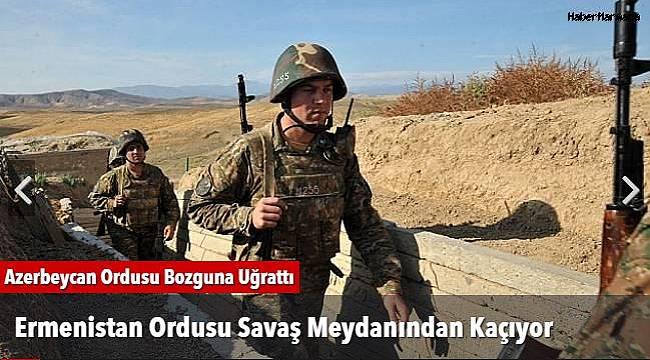 Ermenistan Ordusu Savaş Meydanından Kaçıyor