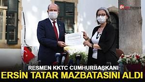 Ersin Tatar Mazbatasını Aldı