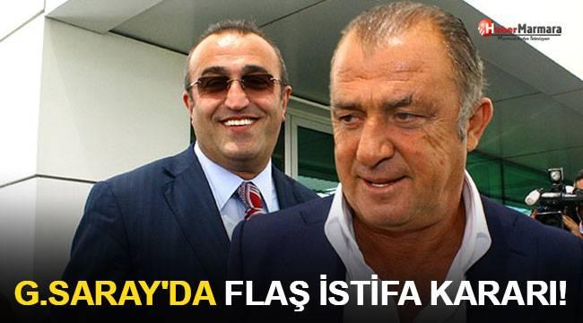 Galatasaray'da flaş istifa kararı!