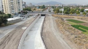 Hoca Ahmet Yesevi Mahallesi'ndeki kanal, Kcasinan'a yakışır hale getirildi