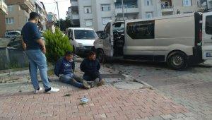 İnşaatlardan malzeme çalan 5 kişilik hırsızlık çetesi çökertildi