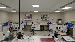 Kapadokya Üniversitesi'nde uygulamalı dersler Kovid-19 tedbirleri ile devam ediyor