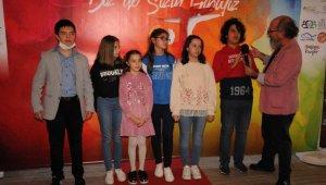 Kırklareli'de özel çocuklardan özel film