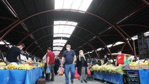 Kocasinan, Yenimahalle'deki pazar yerini yeniledi