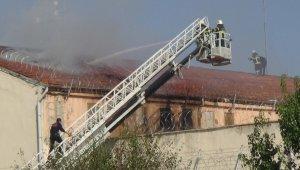 Kütahya Cezaevi'ndeki yangın söndürüldü