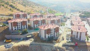 Pütürge'deki deprem konutları ay sonunda teslim edilecek