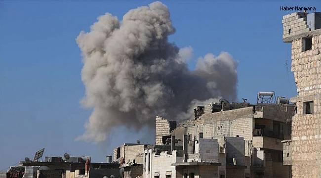 Rus savaş uçakları İdlib'i vurdu! Çok sayıda kayıp var...