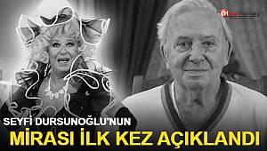 Seyfi Dursunoğlu'nun mirasını bıraktığı kurum ve kişiler belli oldu
