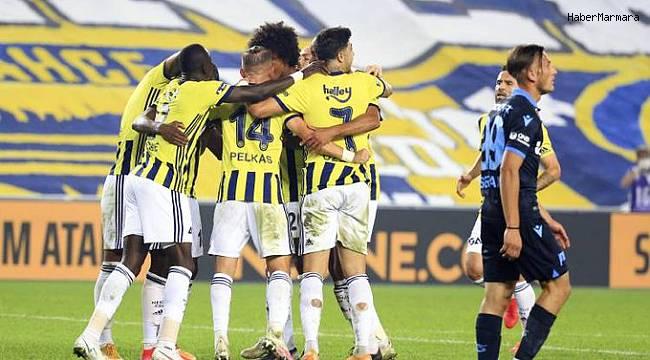 Süper Lig: Fenerbahçe 3 - 1 Trabzonspor