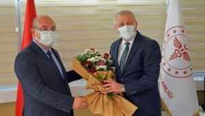 Yeni atanan İl Sağlık Müdürü göreve başladı