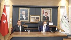 Yeni seçilen belediye başkanını ilk olarak Cumhurbaşkanı Erdoğan kutladı