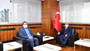Ali İhsan Kabakcı, Büyükkılıç'u ziyaret etti