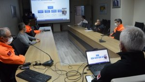 Bayburt TAMP 2020 Masabaşı tatbikatı video konferans olarak yapıldı