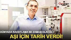 BionTech CEO'su Uğur Şahin Koronavirüs aşısının tedarik tarihini duyurdu!