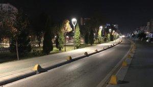 Hafta sonu kısıtlaması Eskişehir'i sessizliğe bürüdü