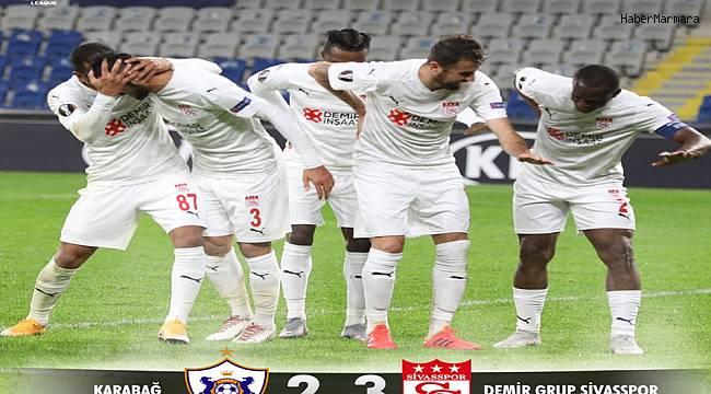 Karabağ 2 - 3 DG Sivasspor