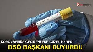 Koronavirüs geçirenlere güzel haber! DSÖ duyurdu