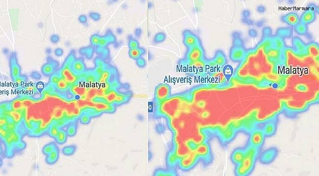Malatya'da vatandaş kurala uymuyor, kırmızı bölge yaygınlaşıyor