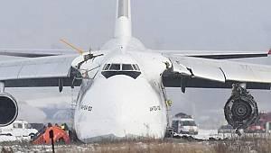 Rus Kargo Uçağının Havada Zor Anları