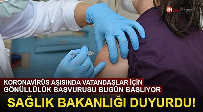 Sağlık Bakanlığı duyurdu: Koronavirüs aşısına gönüllü başvuru! İşte aranan şartlar...