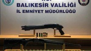 Balıkesir'de polis 88 aranan şahsı yakaladı
