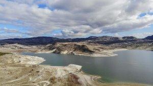 Başkent'in barajlarındaki doluluk havadan görüntülendi