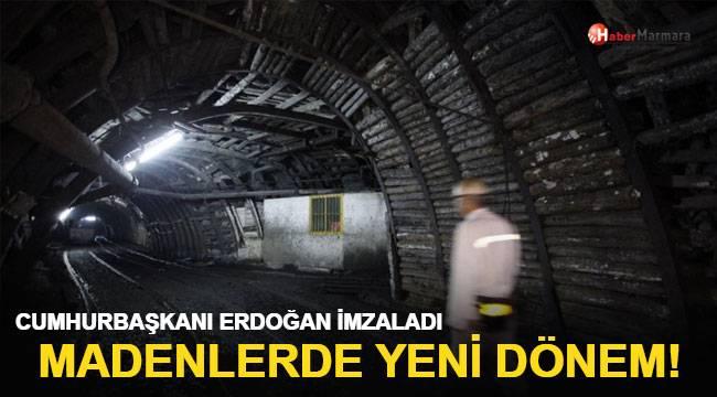 Cumhurbaşkanı Erdoğan Madenlerde yeni dönem
