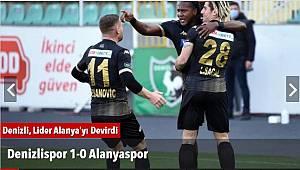 Denizlispor 1-0 Alanyaspor