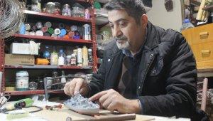 Emekli Deniz Astsubay maketten kendi donanmasını kurdu