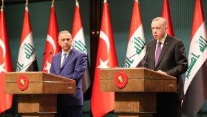 Erdoğan-Kazımi ortak basın toplantısı