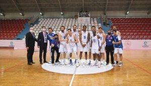 Erkekler Basketbol 1. Ligi: Kocaeli Büyükşehir Belediyesi Kağıtspor: 83 - Sigortam.Net:80