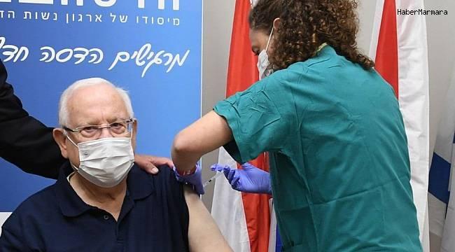 İsrail Cumhurbaşkanı Rivlin, korona aşısı oldu