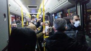 Toplu Taşımada Dikkat Çeken Yoğunluk