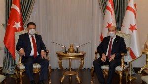 KKTC'de yeni kabine listesi Cumhurbaşkanı Tatar'a sunuldu