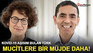 Kovid-19 aşısını bulan Türk mucitlere bir müjde daha