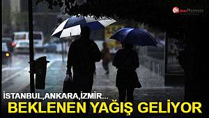 Meteoroloji saat verip uyardı! İstanbul, Ankara, İzmir...