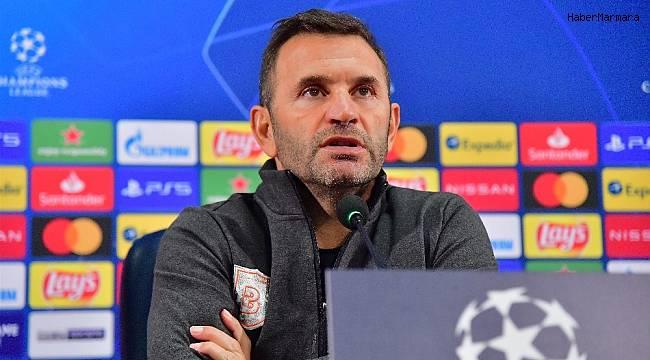 """Okan Buruk: """"Süper Lig ve Şampiyonlar Ligi'ne aynı önemi veriyoruz"""""""
