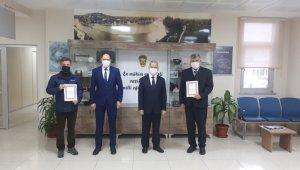 Pandemi sürecinde üretim yapan okullar ödüllendirildi