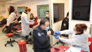 Polisten kan kampanyasına destek