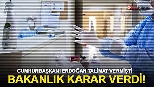 Sağlıkçıları ilgilendiren genelge yayınlandı! Cumhurbaşkanı Erdoğan Açıklamıştı