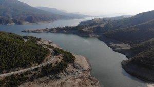 Samsun'da baraj ve göllerde doluluk yüzde 12,1 azaldı