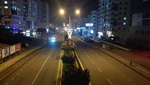 Sokağa çıkma kısıtlaması başladı, Mardin'de yollar sessiz kaldı