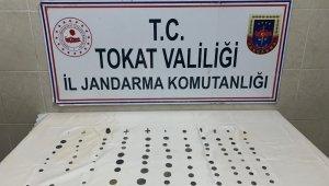 Tokat'ta 127 parça tarihi eser ele geçirildi