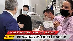 10 Aylık Hayatına 7 Ameliyat... Sinan Özen'in kızı Neva'dan müjdeli haber!