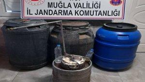 612 litre kaçak alkol ele geçirildi